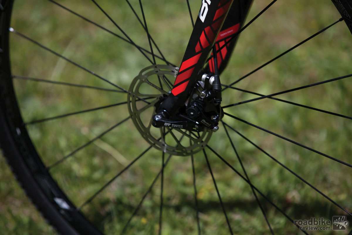 BMC Crossmachine CX01 front brakes