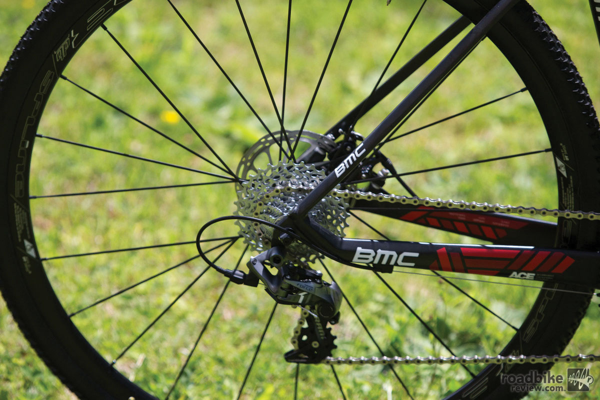 BMC Crossmachine CX01 rear dropout