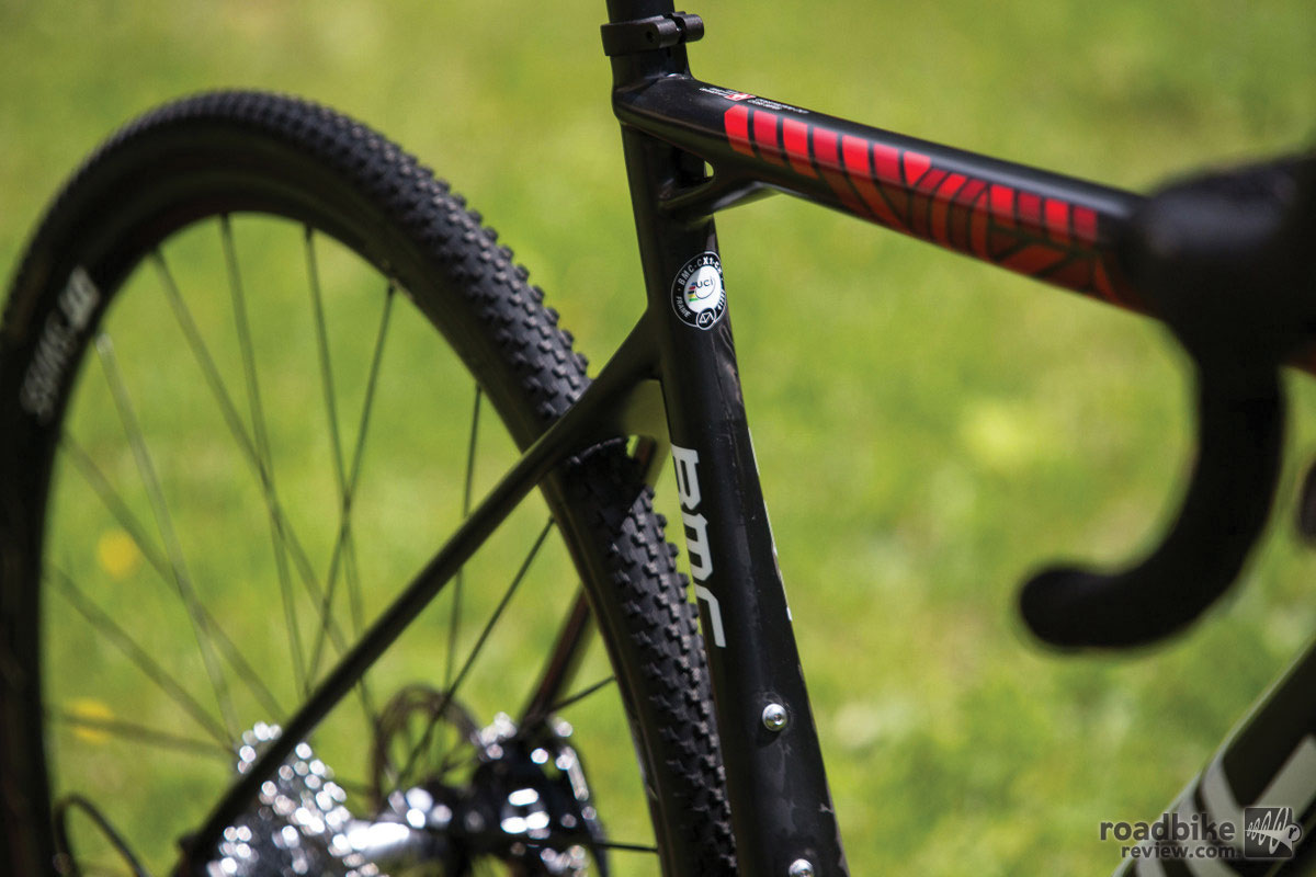 BMC Crossmachine CX01 seat tube