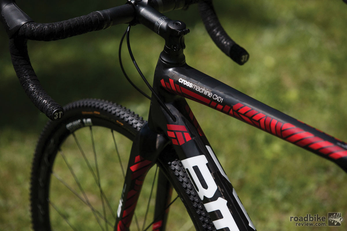 BMC Crossmachine CX01 top tube
