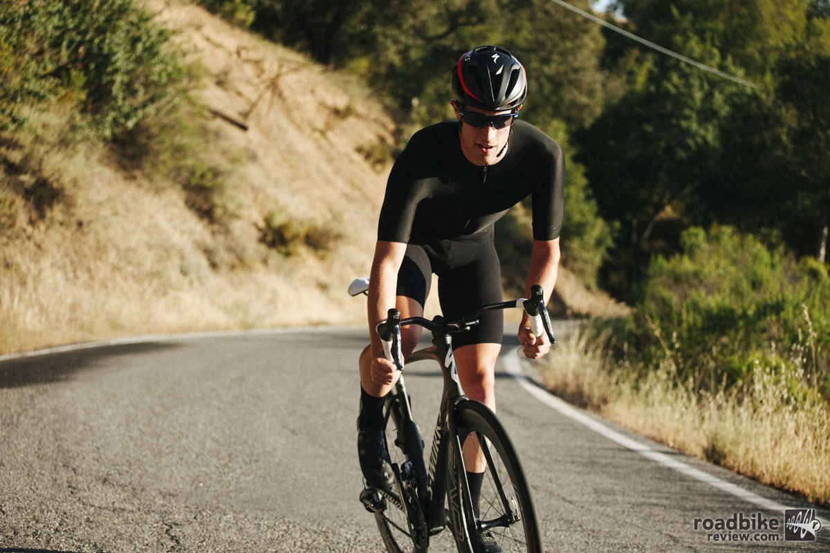 Add it all up and you could be 5 minutes faster, says Specialized. Photo by Andy Bokanev