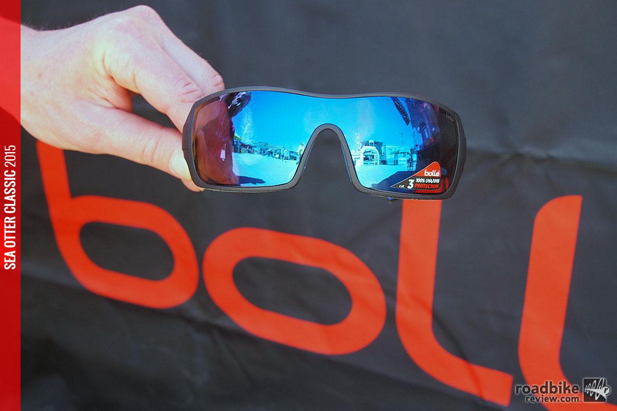 The Bollé Diamondback is from their Sport Lifestyle Series and features polycarbonate lenses.