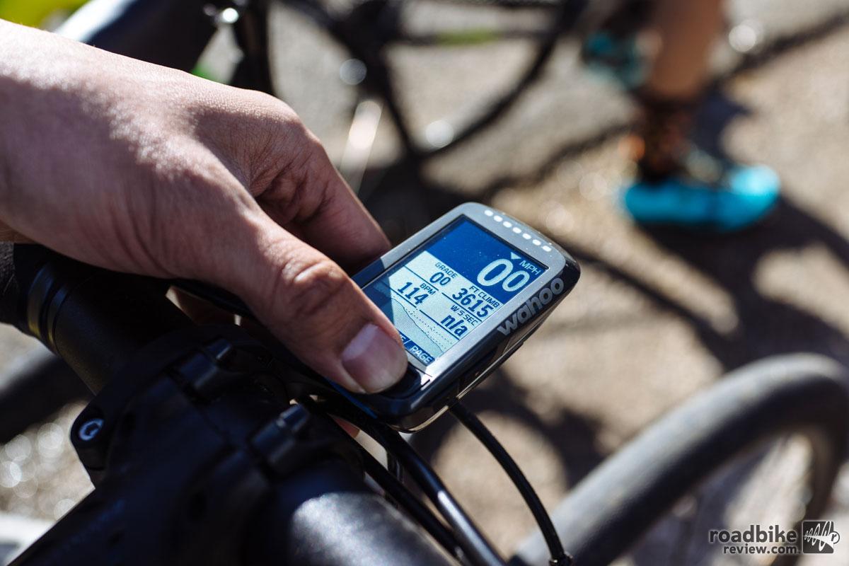 Wahoo ELEMNT BOLT Cycling Computer