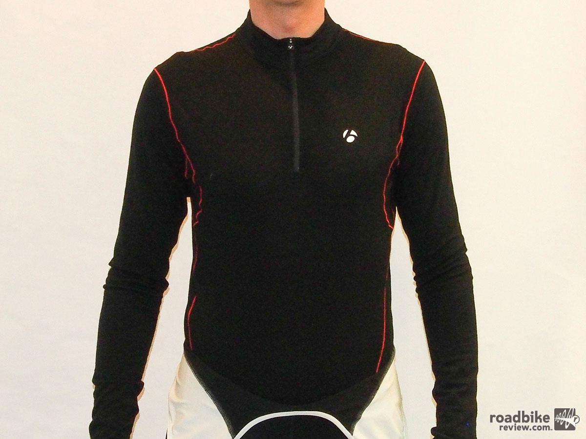 Bontrager B3 Zip L/S Baselayer