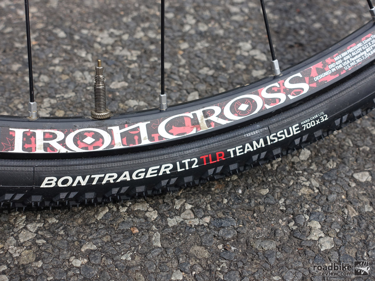 Bontrager's updated LT2 tire receives a lighter Team Issue casing that is tubeless ready.