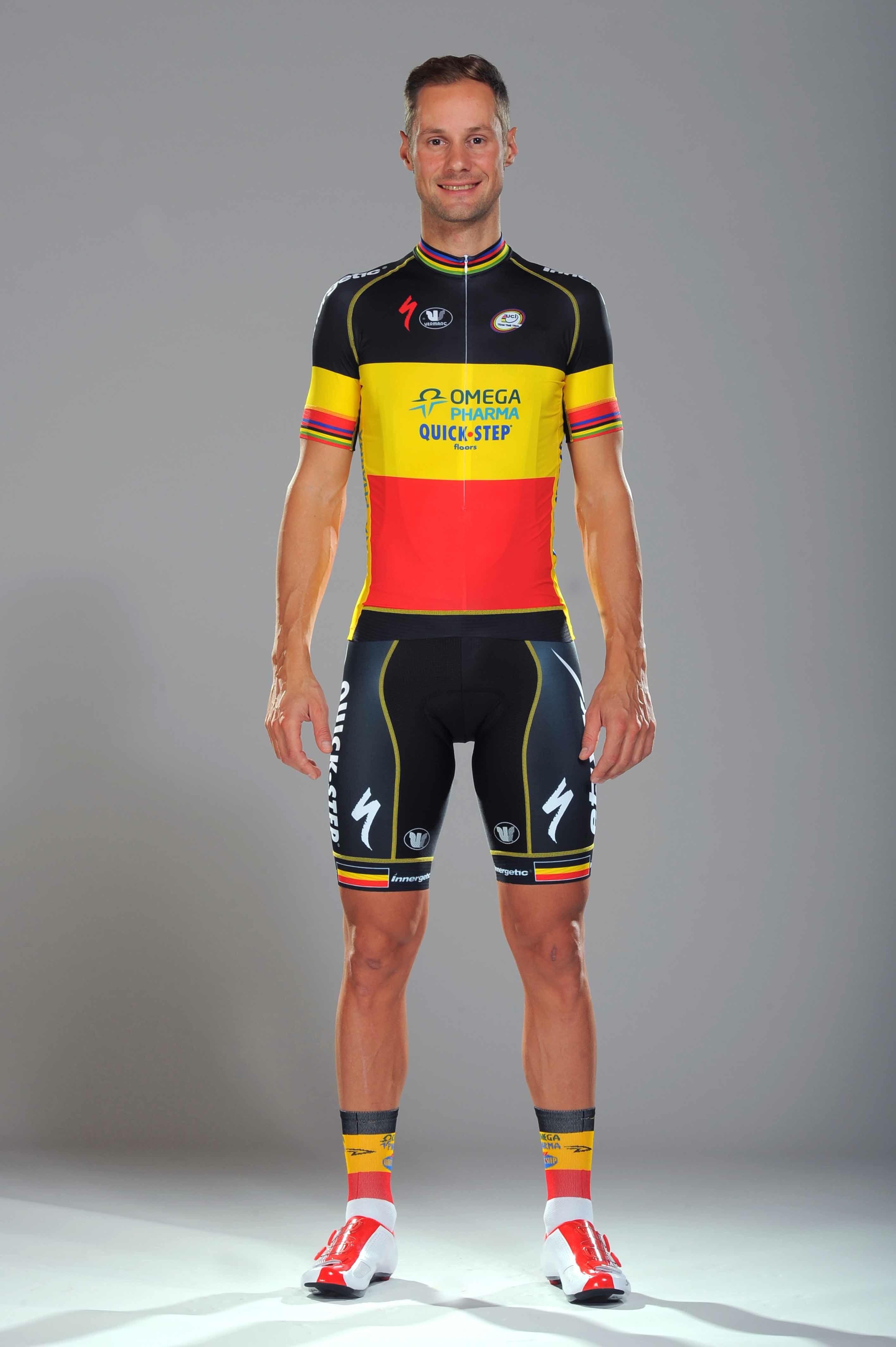 Tom Boonen's 2013 Kit