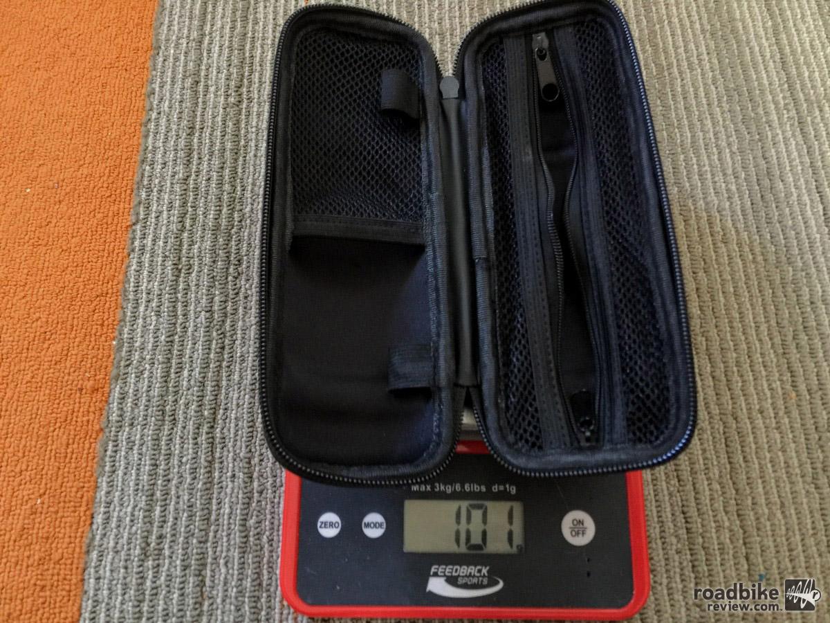 Bottle Pod weight is 101 grams when empty.