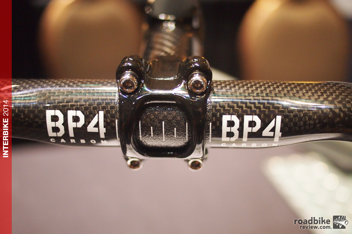Interbike: BP4 carbon handlebar redesigns the classic shape