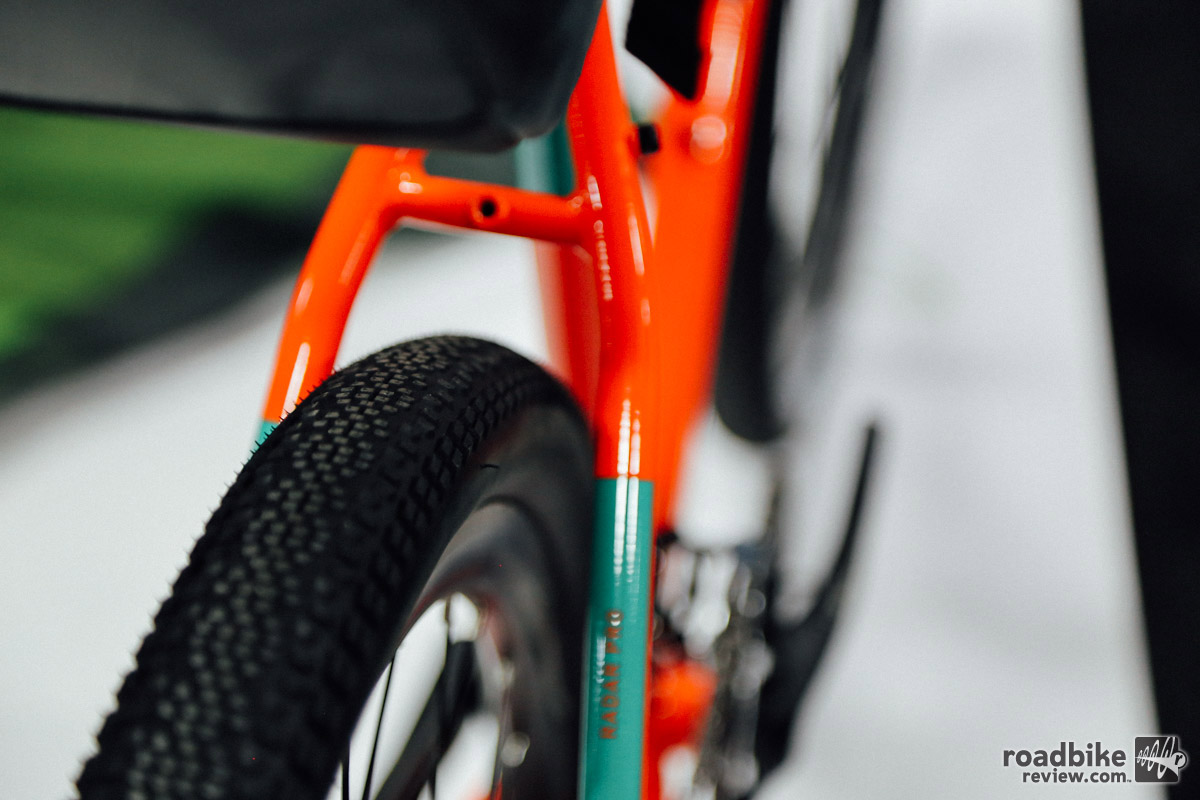 The new Radar Pro has massive tire clearance, extra wide gearing, and a plethora of mounting options.