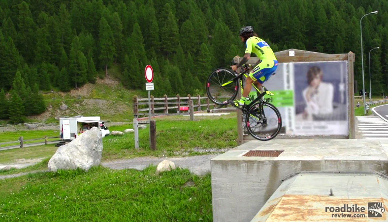 Vittorio Brumotti pulls off one amazing trick after another.