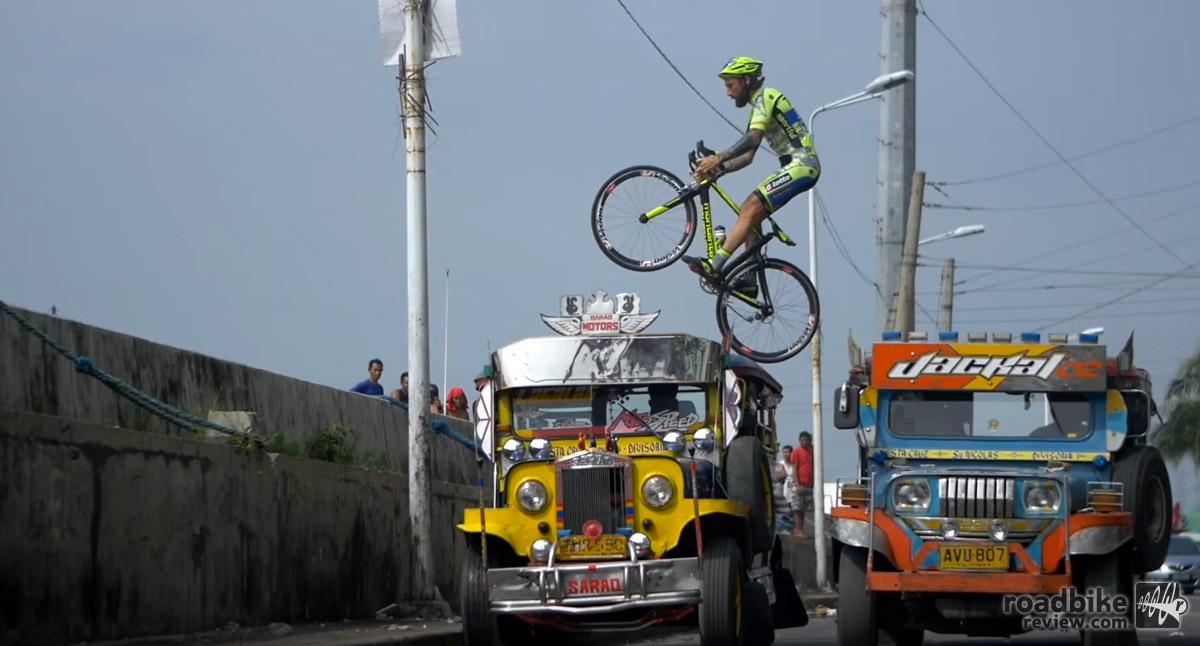 Vittorio Brumotti Rides Manila
