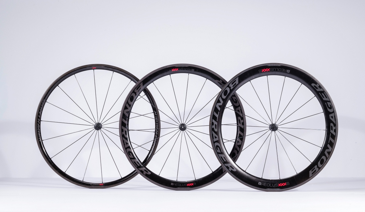 Bontrager Aeolus Xxx Carbon Wheels Roll Out Road Bike