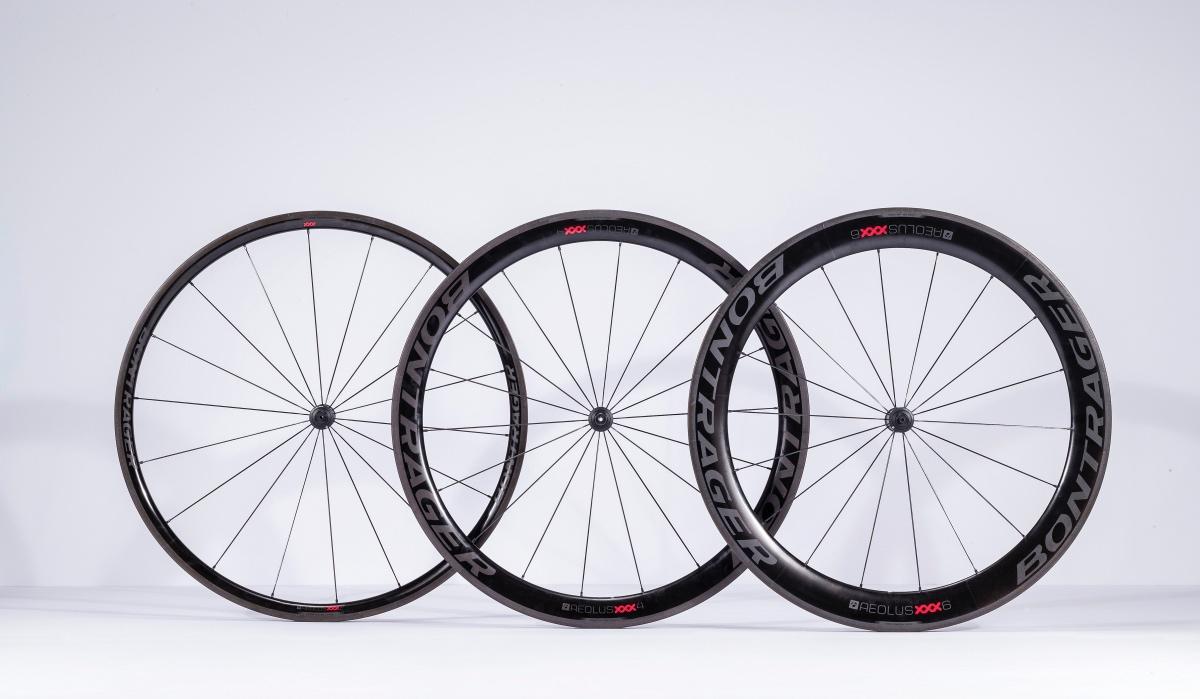 Bontrager Aeolus Xxx Carbon Wheels Roll Out Road Bike