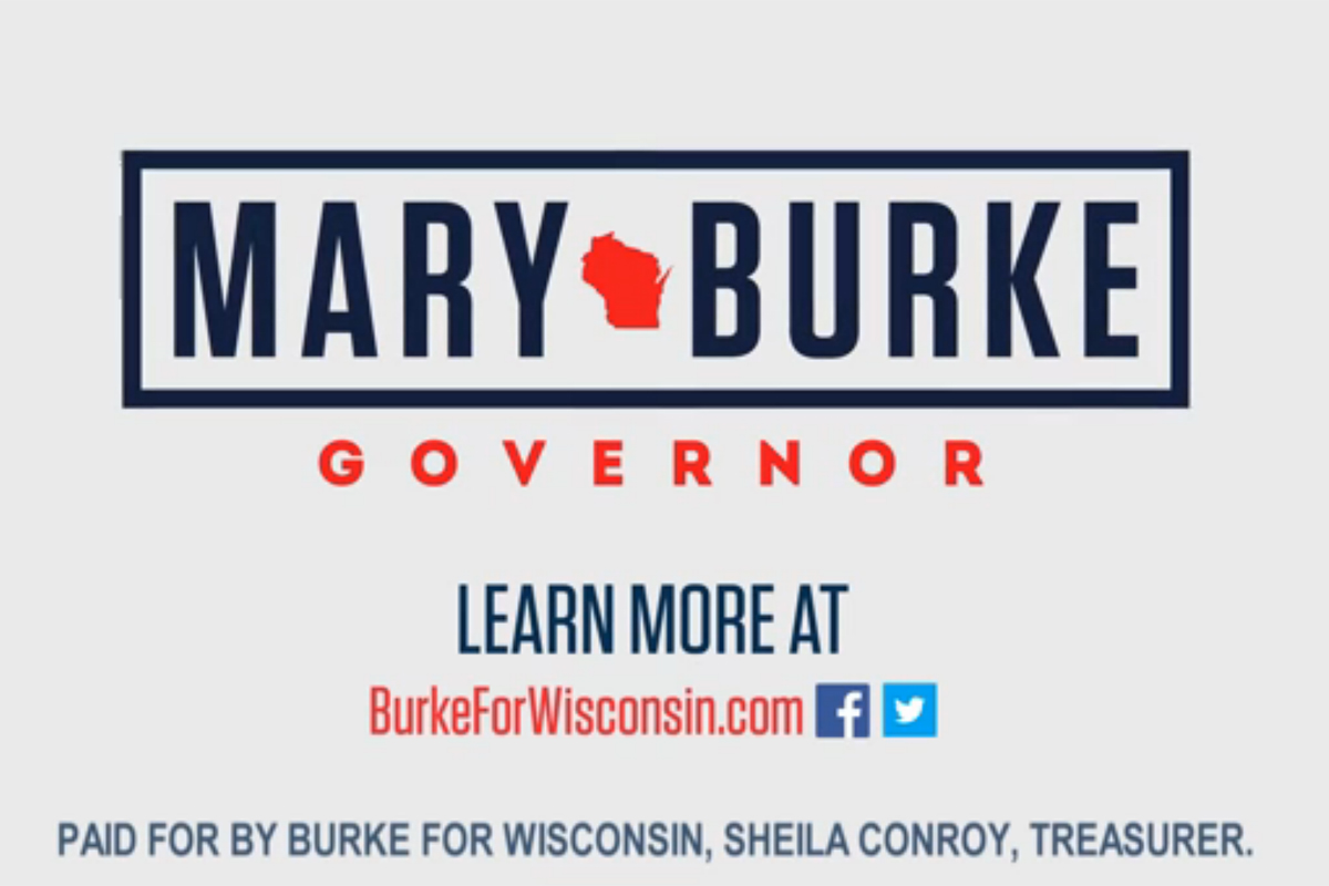 Mary Burke for Governor Poster