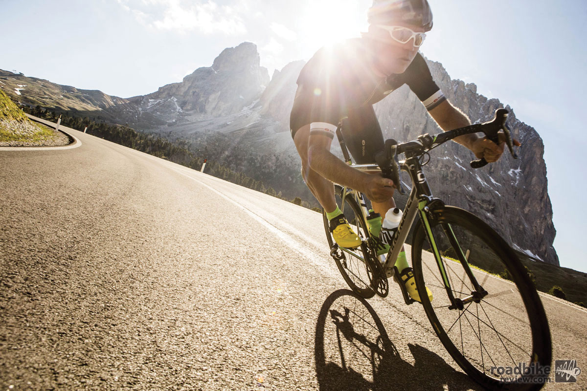 Cannondale claims head tube stiffness is up by 11 percent, which is designed to enhance control.