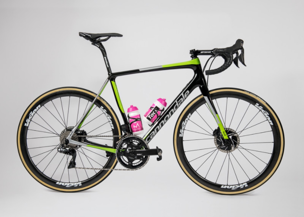 EF Education First-Drapac p/b Cannondale bike check