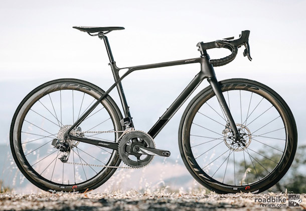 With an integrated power meter and head unit, this is definitely one unique bike.