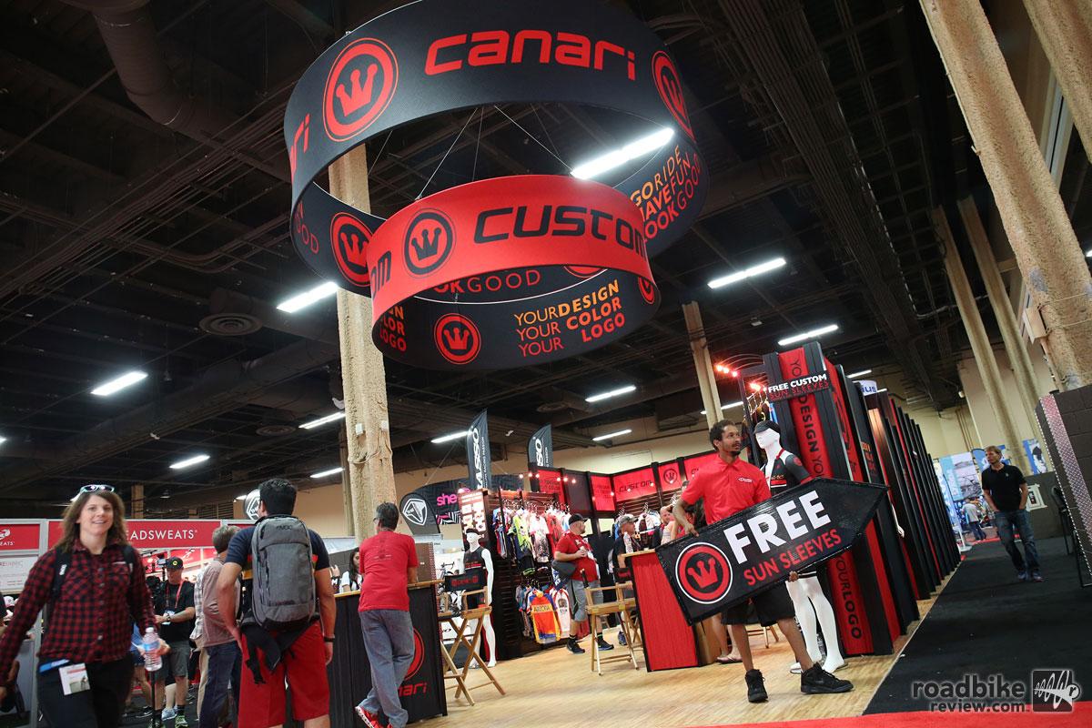 Canari Interbike 2015 Booth