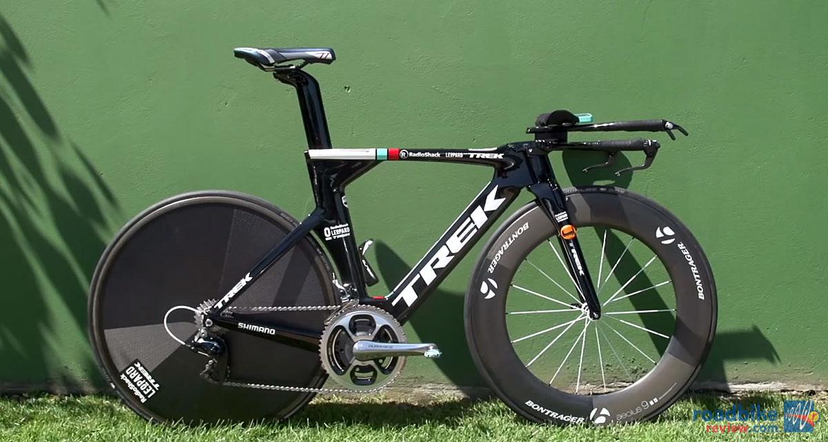 Cancellara's Trek Speed Concept