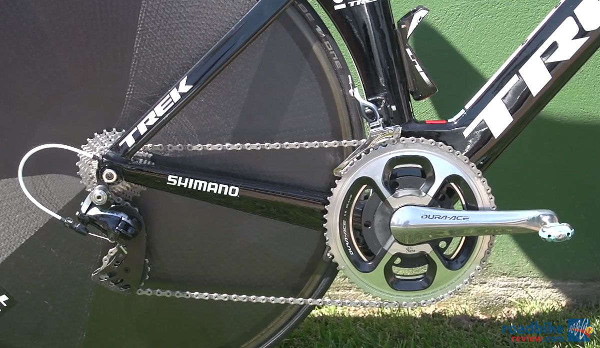 11-speed Shimano Dura Ace Group