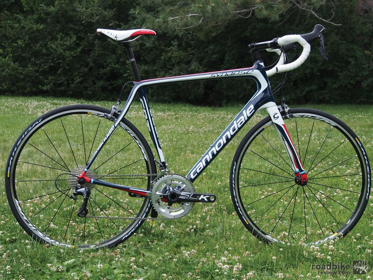 3k Endurance Bike Shootout Cannondale Synapse Carbon 3
