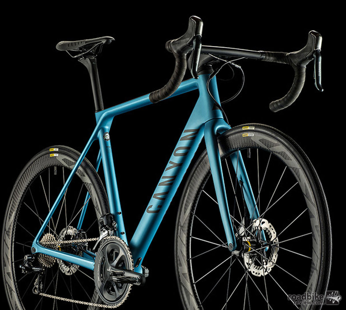 The disc- equipped bikes are claimed to weigh just 70 grams more than their rim brake-equipped counterparts.