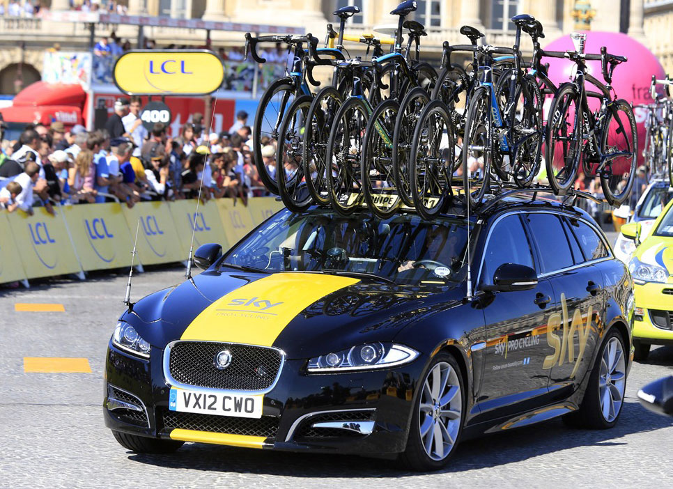 Video What S Inside And On Top Of A Team Car Road