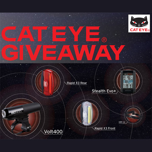 Contest: Enter to win a CatEye Cycling Prize Pack