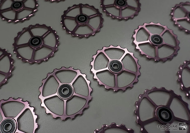 CeramicSpeed launch pink pulley wheels