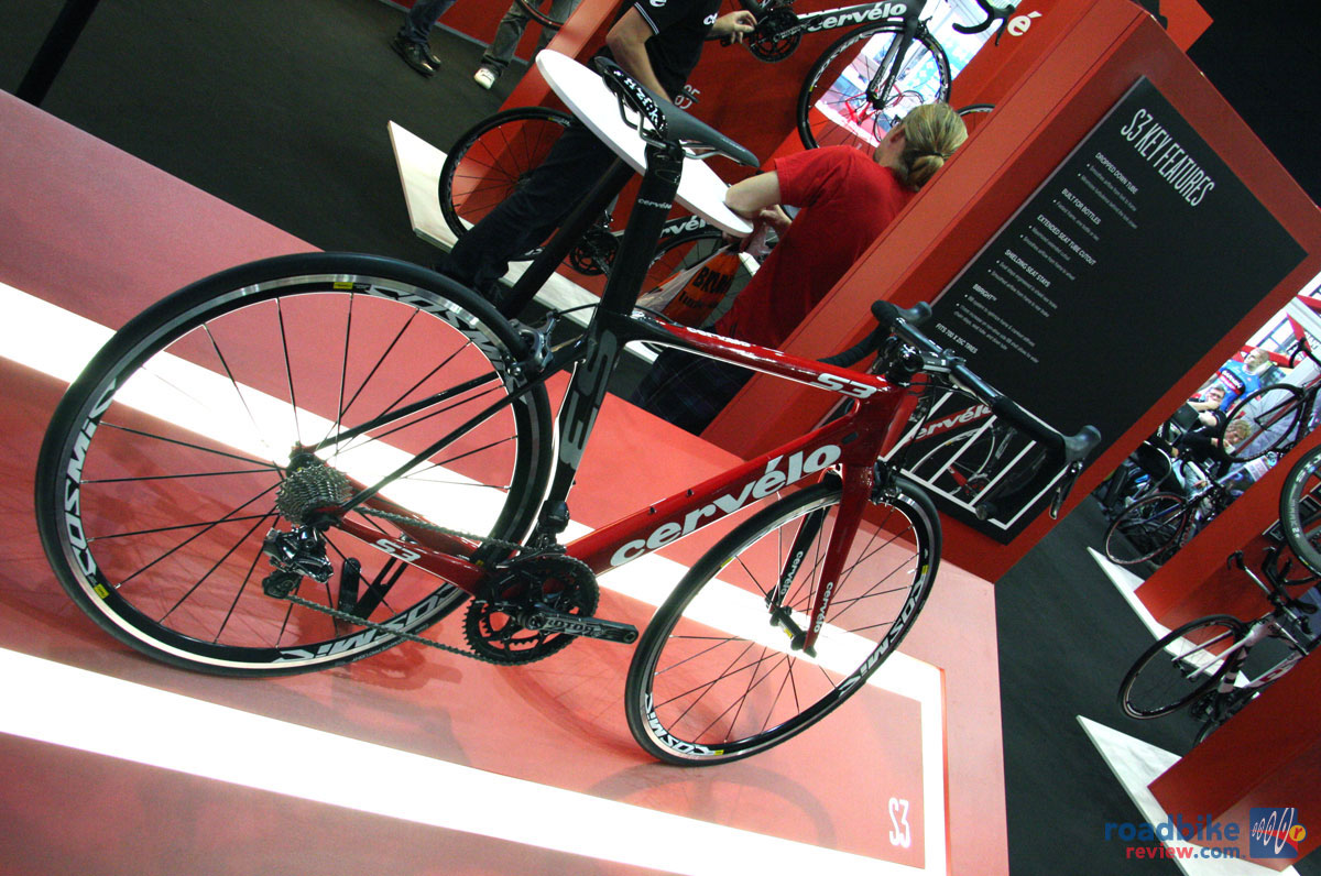 a7e2076c5a8 The new Cervélo S3 is a softer version of the S5 aero road bike at a  friendlier price point.
