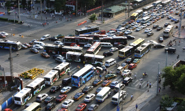 China Traffic Jam City