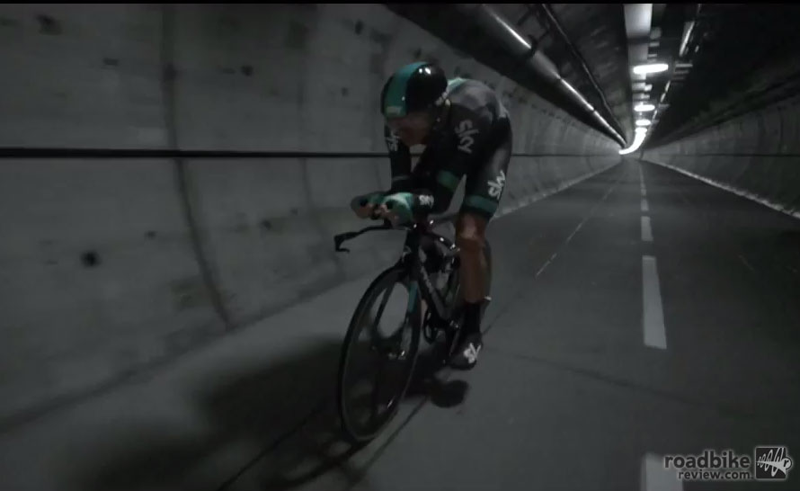 Chris Froome Eurotunnel