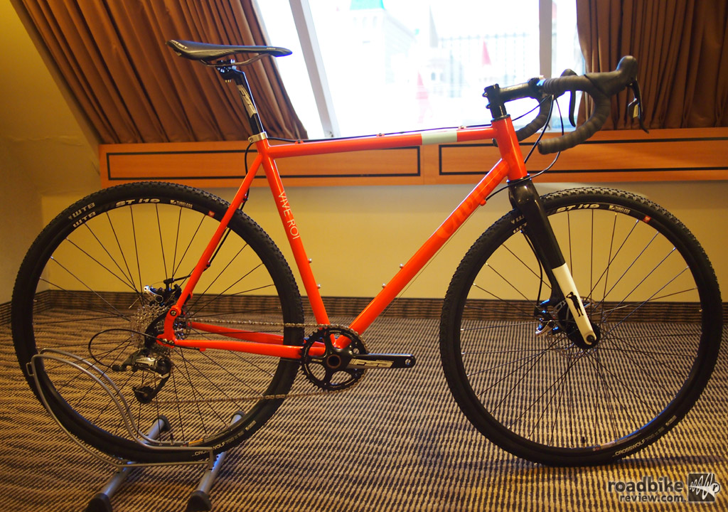 First Look: Civilian Bicycles Vive Le Roi Cyclocross Bike