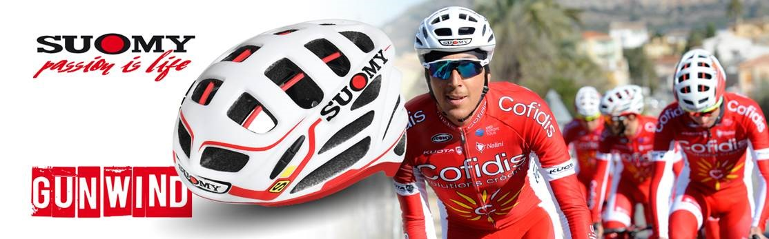Suomy teams up with Cofidis