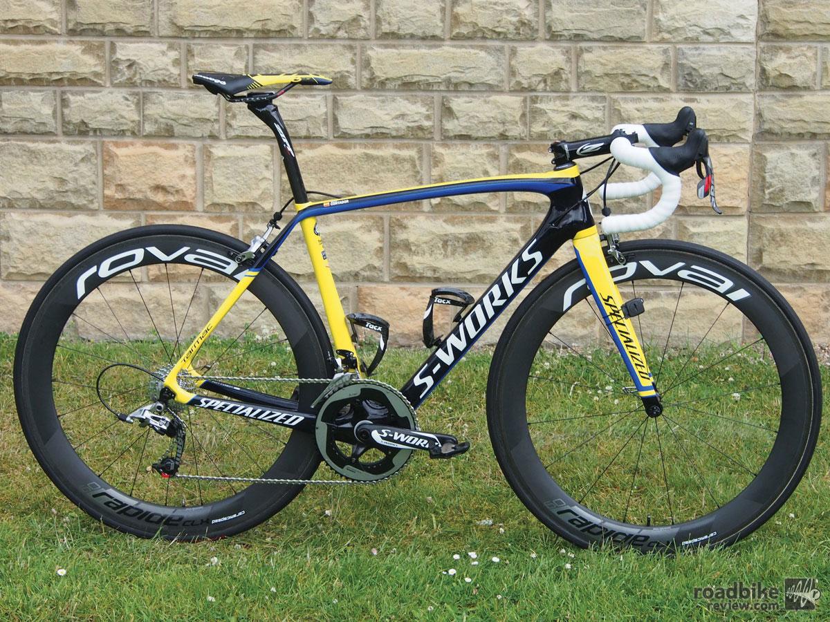 Alberto Contador S Specialized S Works Tarmac Road Bike News