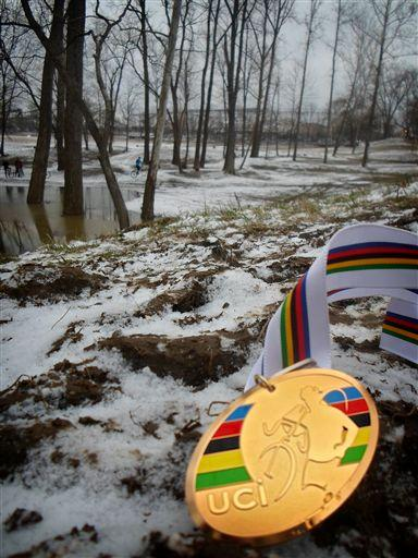 Gold medal and the course