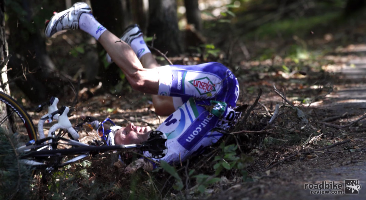 This is what can happen when you dont respect the descent of the Cote de Pramartino.