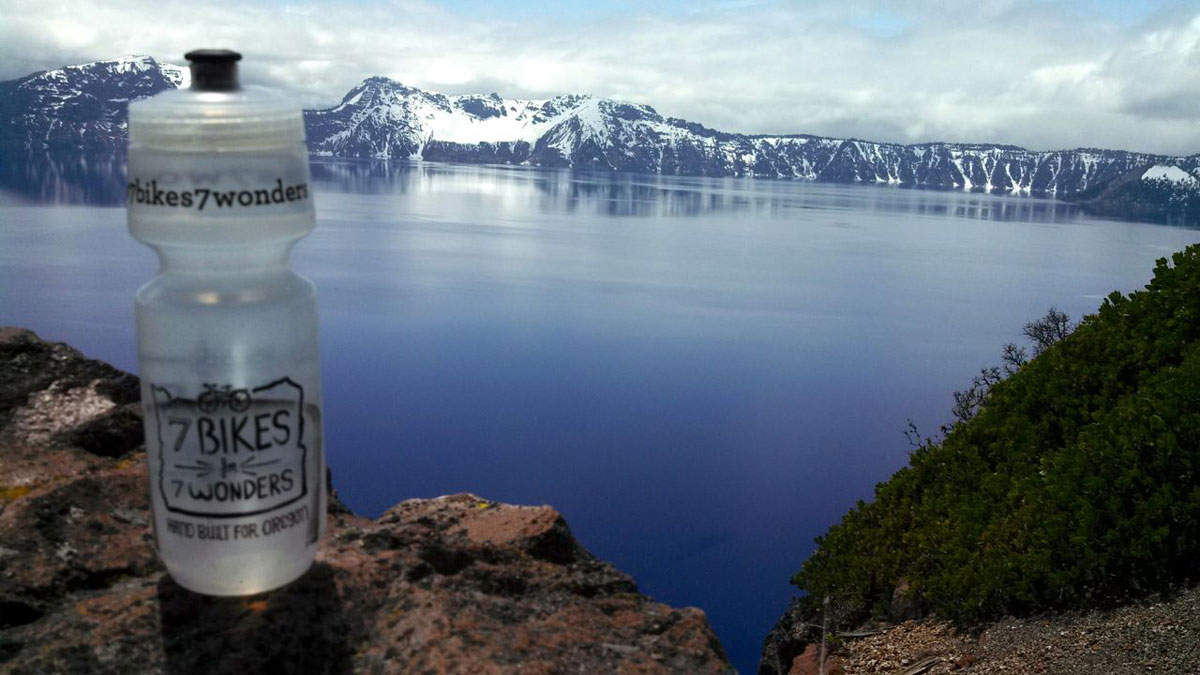 Crater Lake is the deepest lake in North America and ninth deepest in the world.