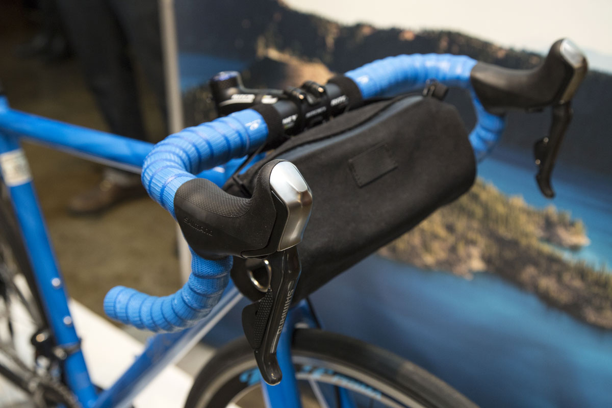 There's a handlebar bag to carry a pair of binoculars or a good camera to capture the sublime moments and scenery.