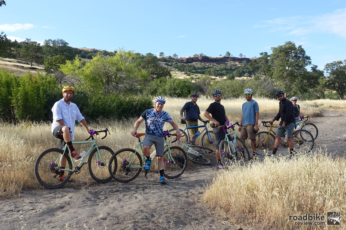 Price hosted a small gathering of cycling media in Chico to ride bikes and visit with the parts maker.