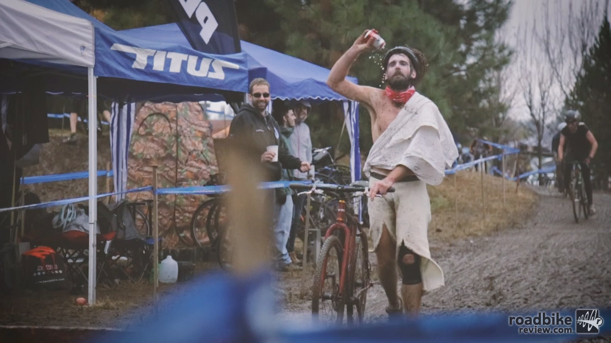 The man himself made an appearance at the Halloween Cross Crusade event in Bend, Oregon.