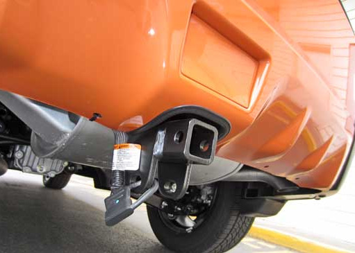 Subaru XV Crosstrek hitch