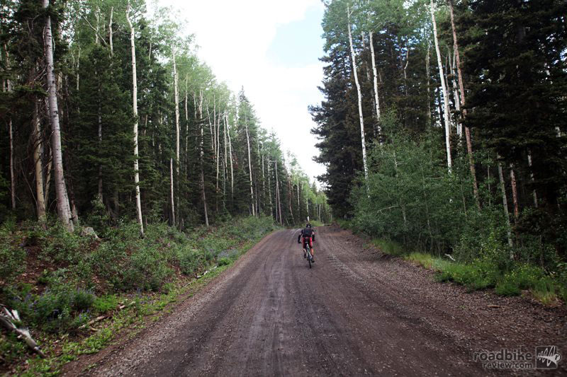 Crusher in the Tushar is a 70-mile backcountry Utah ride ascending a healthy 10,000 feet of vertical. Photo by Crusher in the Tushar