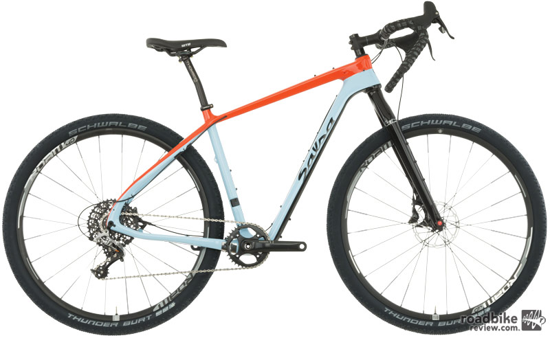 The SRAM Rival build runs $4000.