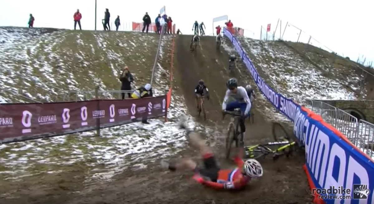 Best crashes from 2017 cyclocross world championships