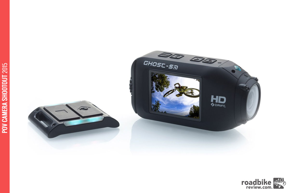 One of the easiest POV cameras to use with straightforward, obvious controls and a 2-inch color LCD display for composing and playing back videos. Photo courtesy of Drift Innovations