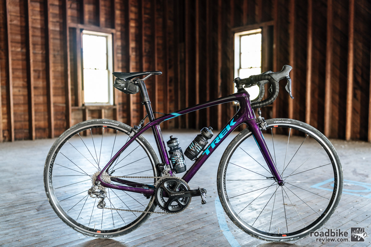 The Silque SLR couples Domane SLR's features with a women's ride-tuned frame and new graphics.