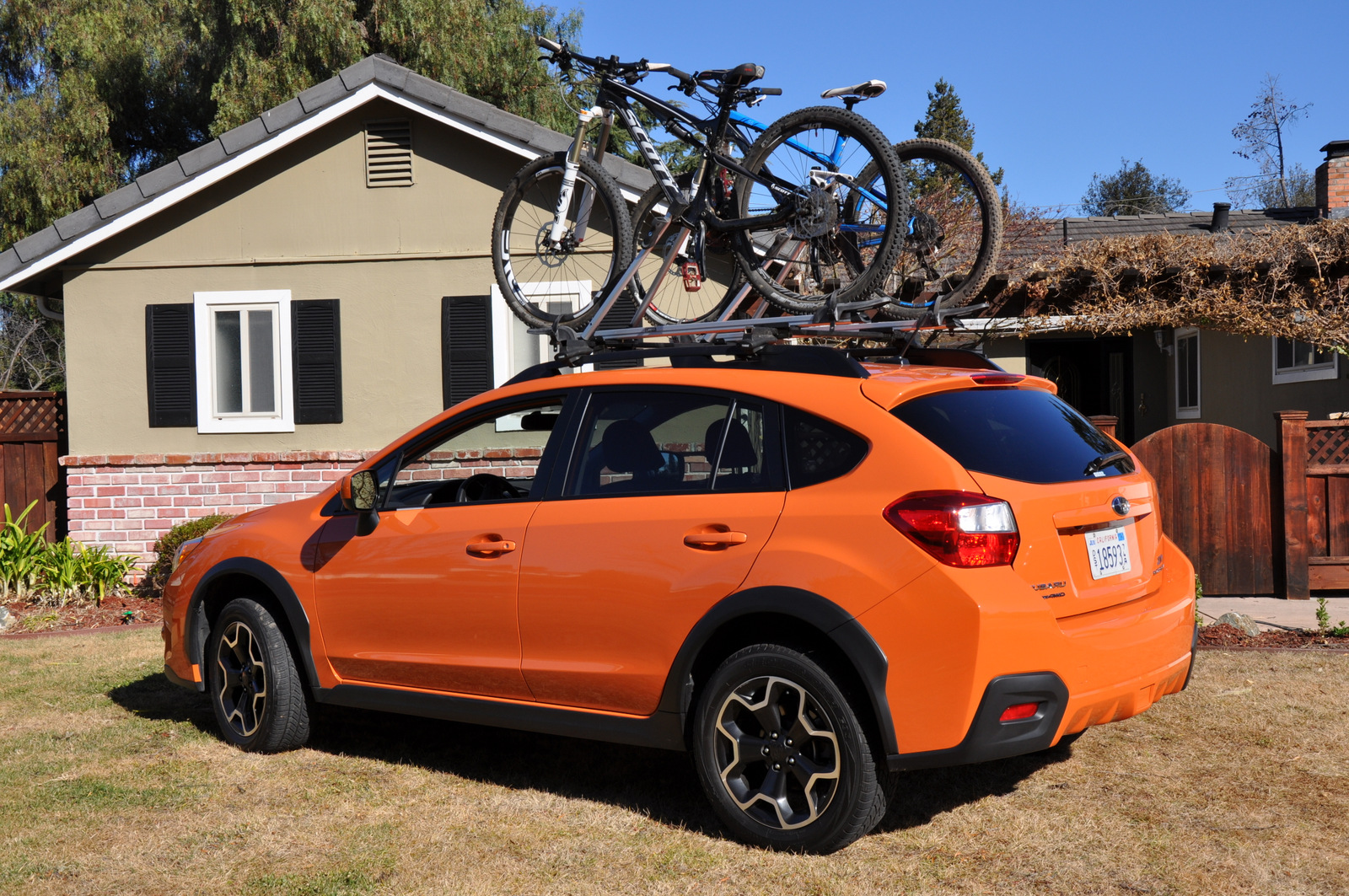 Subaru XV Crosstrek loaded