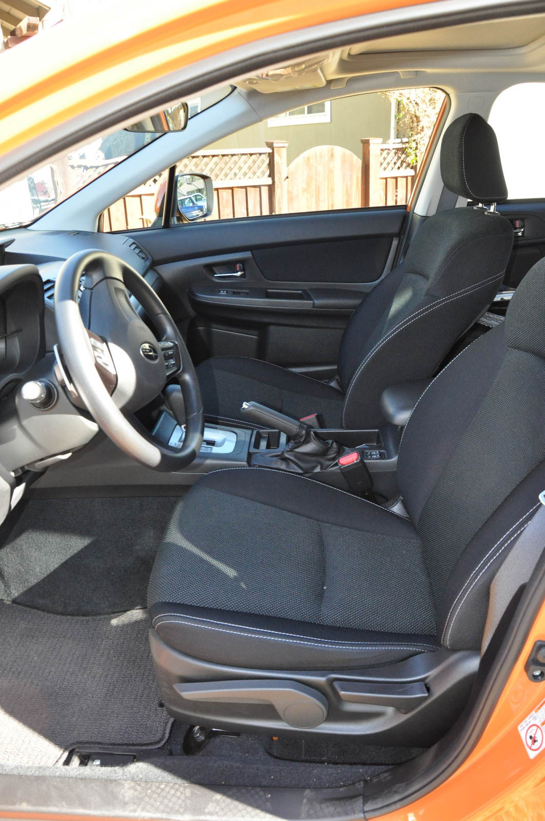 Subaru XV Crosstrek drivers's seat