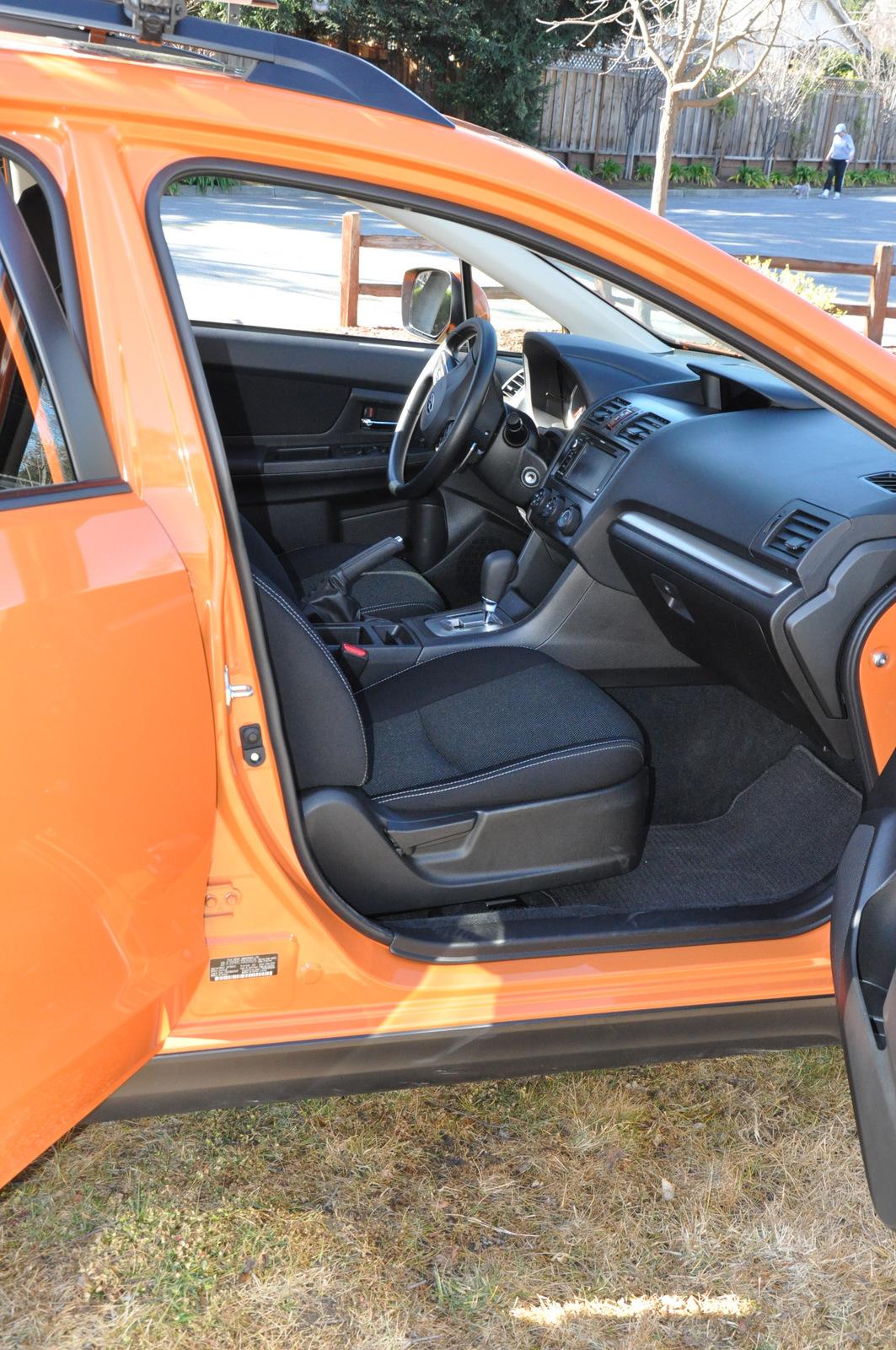 Subaru XV Crosstrek front passenger seat